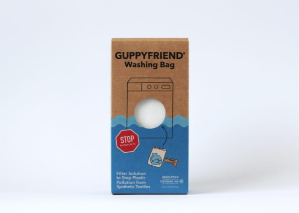 Guppyfriend Box with washing bag inside
